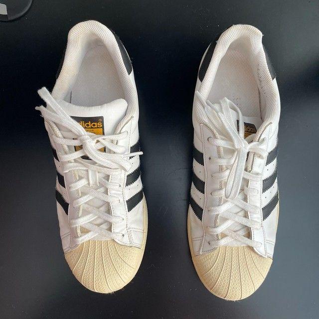 Tênis Adidas Superstar 41 - Foto 3