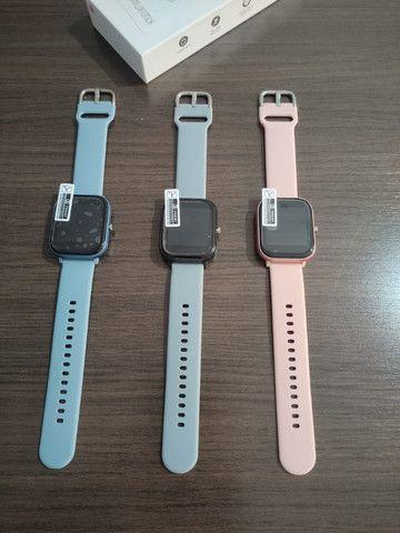 12x s/juros Smartwatch P8 - Foto 2