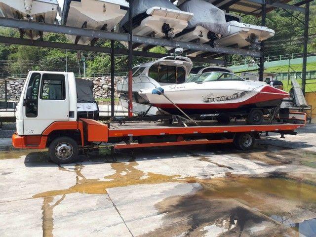 Transporte náutico pra todo Brasil e com a pw náutica