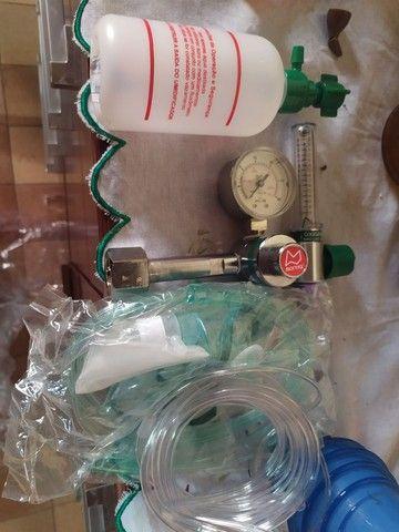 Regulador Com Fluxômetro Para Uso Domiciliar  - Foto 3