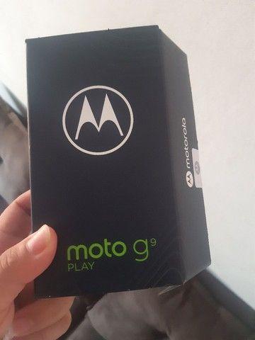 Moto g9 play novo zero nunca usado