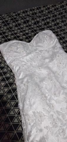 Vestido de Noiva belissimo - Foto 6