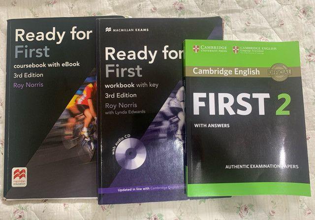 ready for first livros cambridge fce