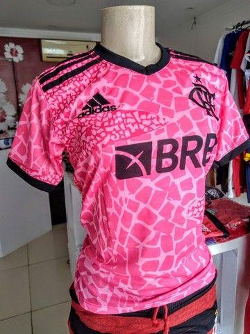 Camisas Exclusivas Flamengo Infantil Feminina