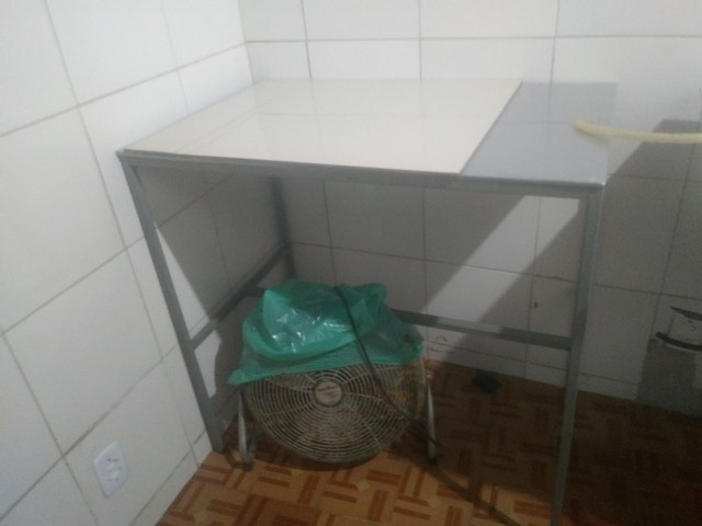 VENDO BANCADA METALON GALVANIZADO - Foto 2