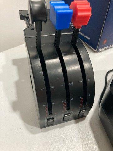Saitek Pro Flight Yoke System Completo + Pedal Switch - Foto 5