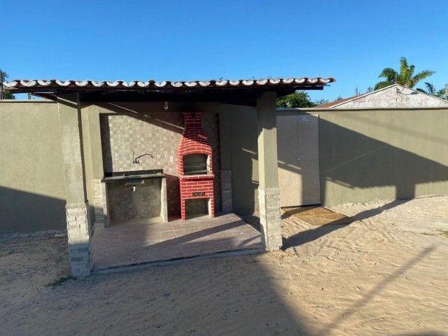 Casa de Madeira a 600 metros da CE-040 com terreno 400 m2 e deck preço de ocasião - Foto 3