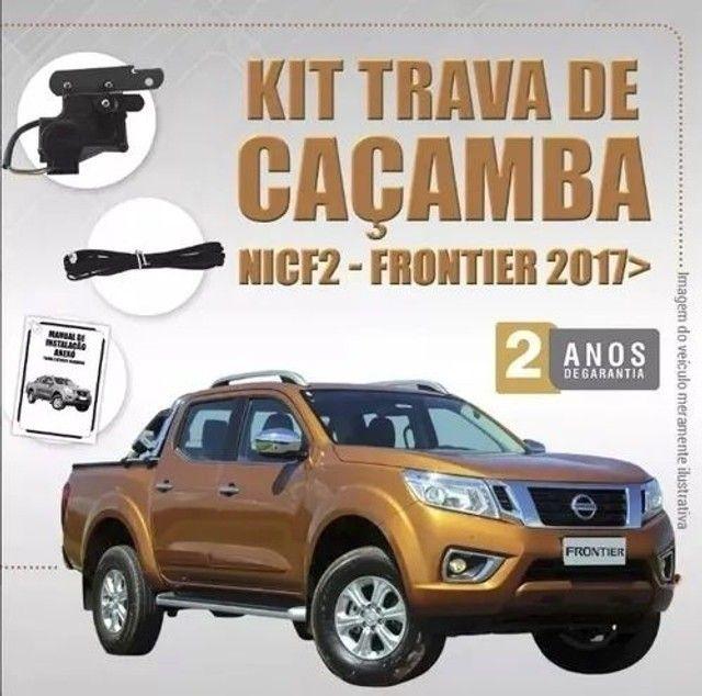 Kit Tragial - Trava Eletrica De Cacamba Frontier 17/.