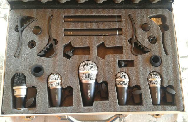 Microfones pra bateria