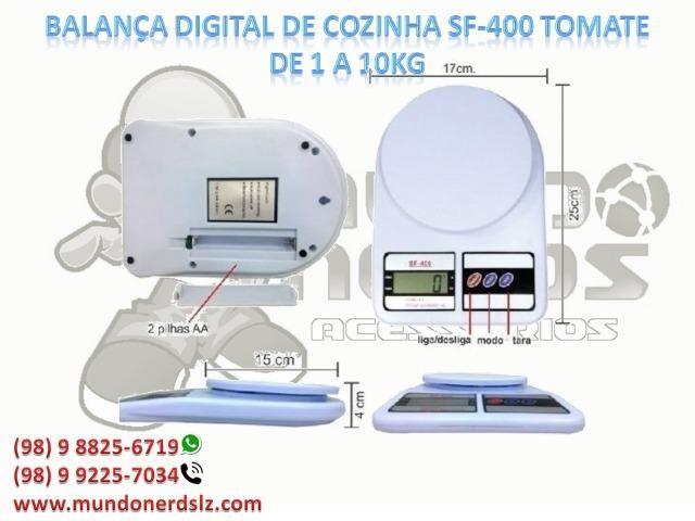 Balança Digital Precisão 1g A 10 Kg Cozinha Dieta Fitness Marca Tomate em são luís ma - Foto 2