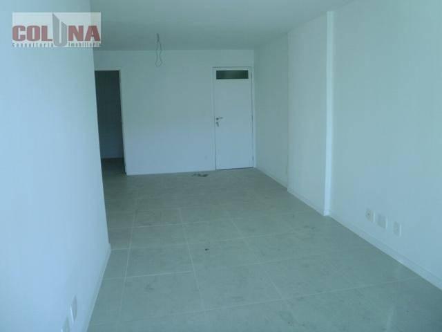 Apartamento com 3 dormitórios à venda, 110 m² por R$ 900.000 - Jardim Icaraí - Niterói/RJ - Foto 3
