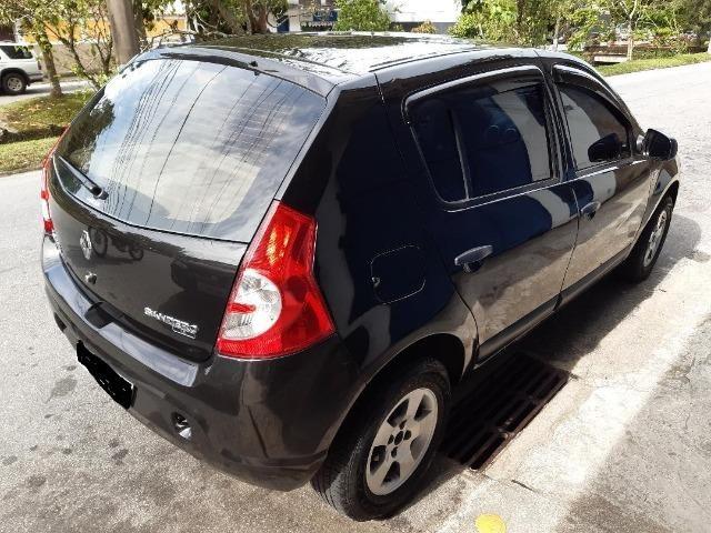 Sandero 2011 Expression 1.6 Flex completo R$ 21.900,00 - Foto 4