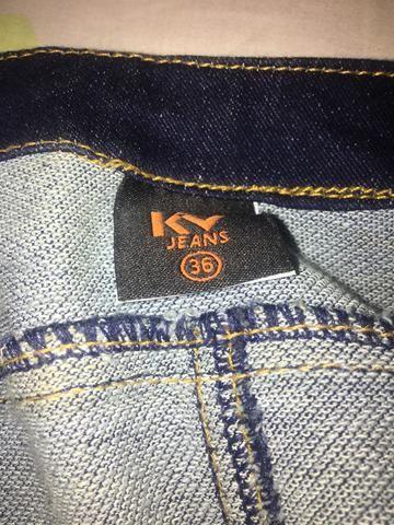 Vestido Jeans da Karen Vicius 36 - Foto 4