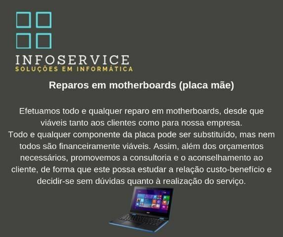 Conserto Placa Mãe (motherboard)