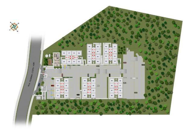Apartamentos de 2 Quartos na região fo Portal do Sol em São josé dos Pinhais - Foto 9