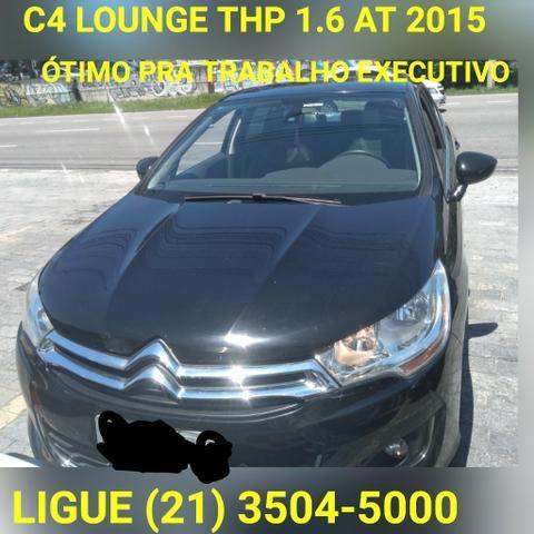 C4 lounge 1.6 Thp At 2015*1 Ano de Garantia*Mitsubishi Raion Barra 21 3504-5000