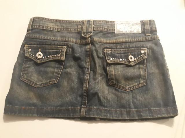 Mini saia jeans - Foto 2