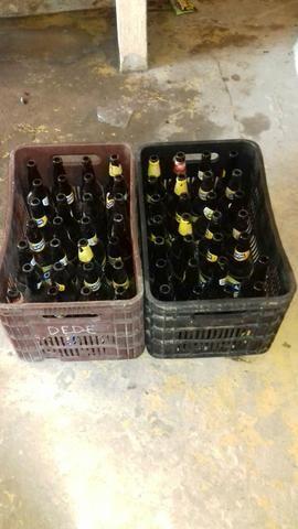 Vendo casco de cerveja seco (obs)nao tem o vasilhao