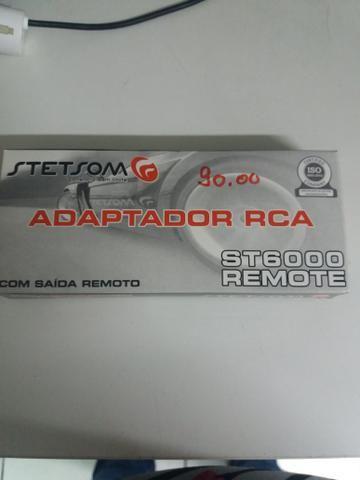 Adaptador rca com fio remoto novo na embalagem