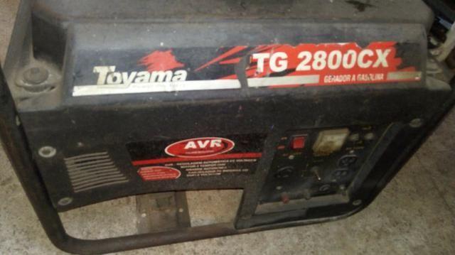 Gerador a gasolina toyama Tg 2800CX