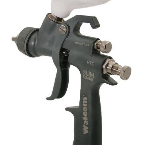 Pistola de pintura Walcom Slim Kombat HTE com maleta - HTE-803013 - Foto 3