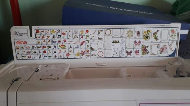 Máquina de bordar Elna 8300 - Foto 5