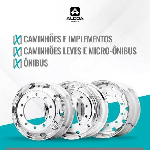 Rodas de alumínio Alcoa em MG -Para pneu 275 e 295