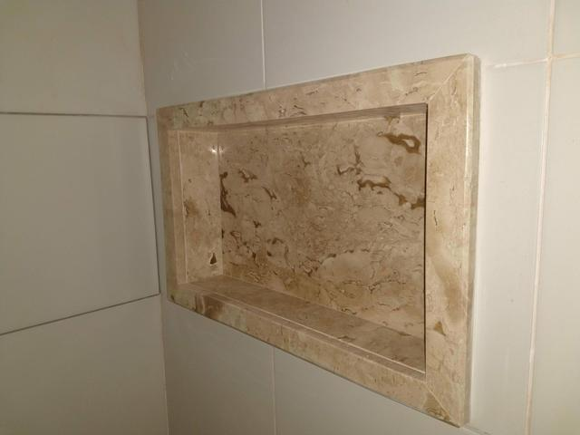 Nichos Para Banheiro Elemental Mármores