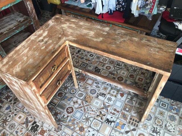 Escrivaninha rustica - Foto 2