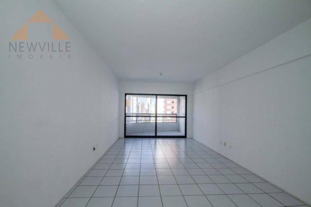 Apartamento com 3 quartos para alugar, 98 m² por R$ 3.330/mês - Boa Viagem - Recife/PE - Foto 4