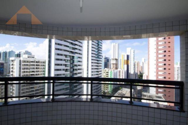 Apartamento com 3 quartos para alugar, 98 m² por R$ 3.330/mês - Boa Viagem - Recife/PE - Foto 7