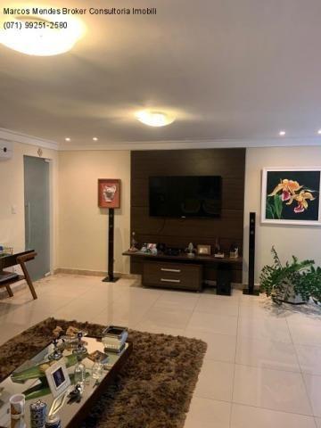 Excelente casa com 5/4, pronta para morar, em condomínio fechado, lazer e portaria 24 hs. - Foto 10