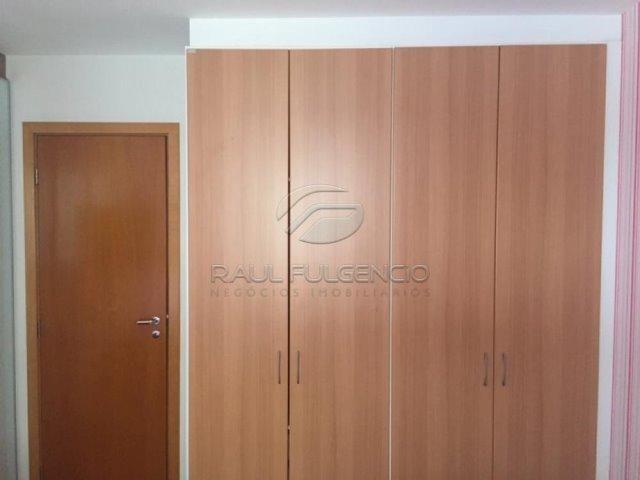 Apartamento com mobilia Área Útil 130m² 2 vagas de garagem Gleba Palhano - Foto 16