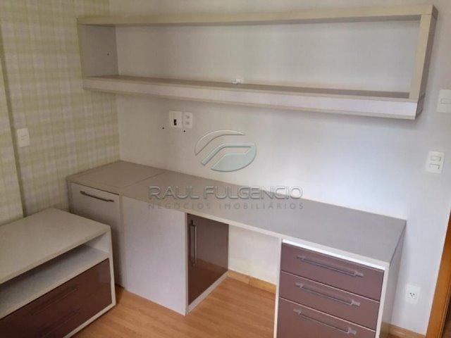 Apartamento com mobilia Área Útil 130m² 2 vagas de garagem Gleba Palhano - Foto 14