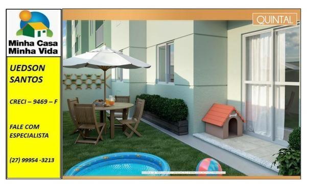 UED-23 - Apartamento térreo com quintal de 26 metros quadrados - Foto 9