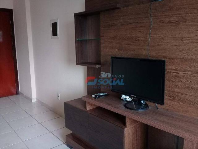 Excelente apartamento mobiliado para locação, cond. porto velho service, apt 207, porto ve - Foto 5