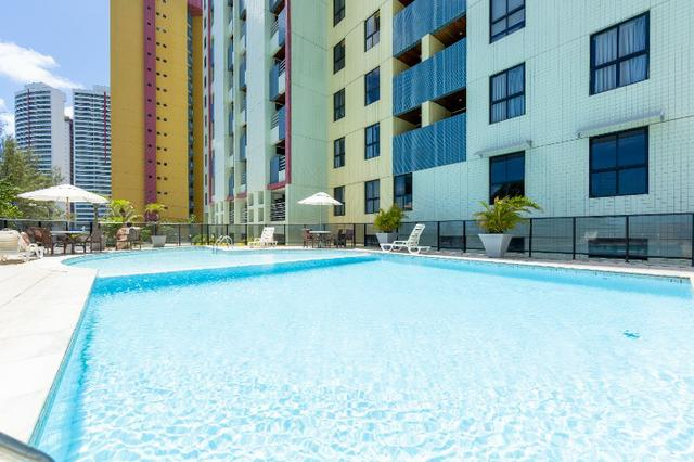 Apartamento mobiliado no Paradise Flat em Ponta Negra - Foto 13