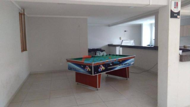 Excelente apartamento mobiliado para locação, cond. porto velho service, apt 207, porto ve - Foto 17