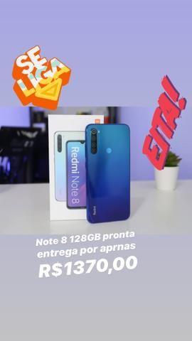 Celular Xaiomi note 8 de 128Gb super oferta Azul