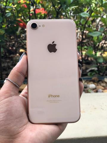 Iphone, 8 gold ( sensacional)