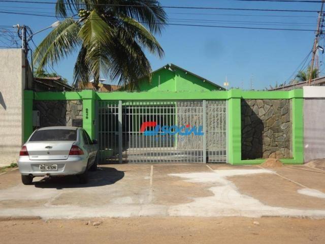 Excelente casa residencial para locação Rua Pio XII, Liberdade - Porto Velho.
