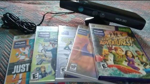 Kinect + 5 jogos