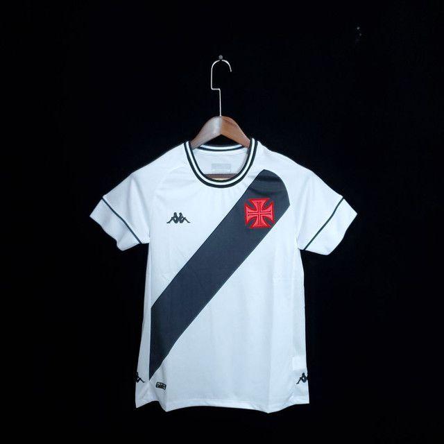 Camisa feminina Vasco Branca pronta entrega