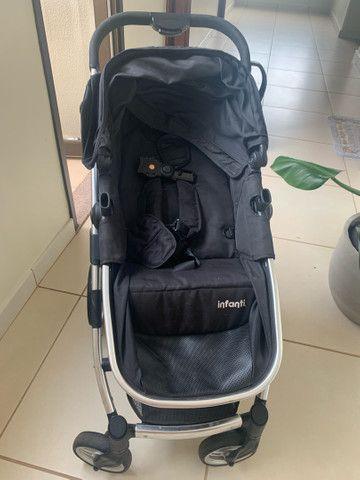 Carrinho Infanti com bebê conforto  - Foto 4