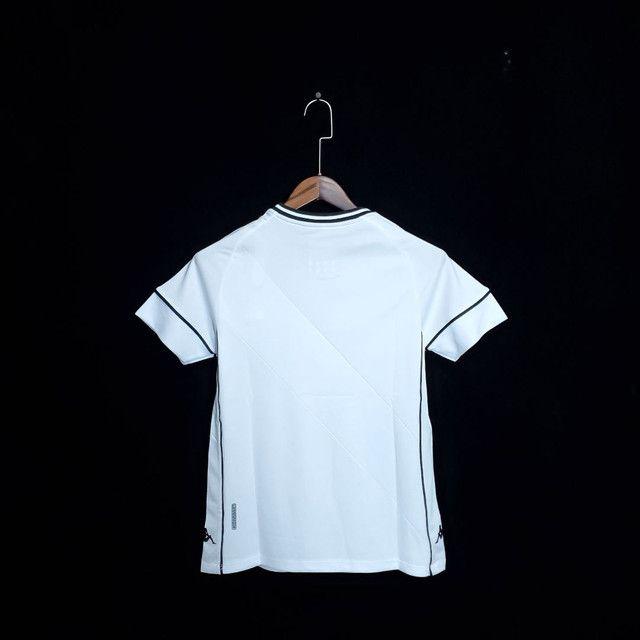 Camisa feminina Vasco Branca pronta entrega - Foto 2