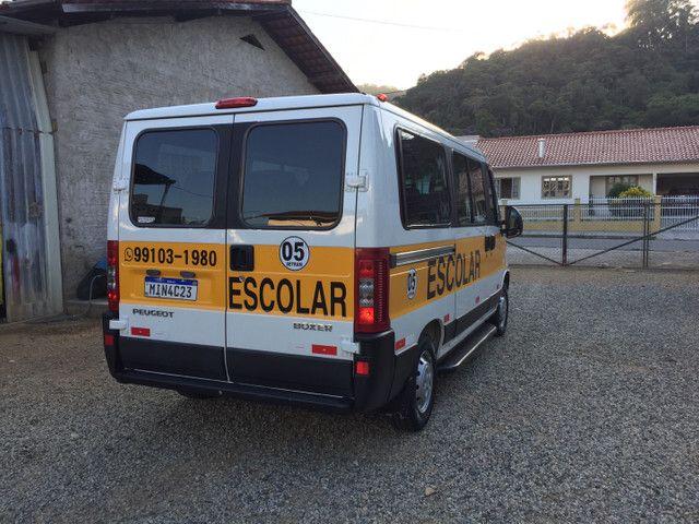 Boxer minibus 16 lugares com AR condicionado