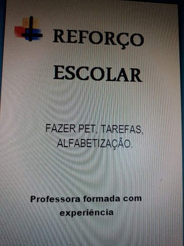 REFORÇO ESCOLAR  - Foto 3