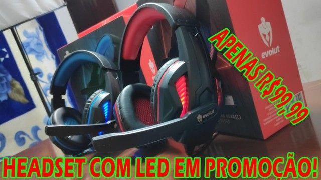Headsets Gamers em Promoção! Vários Modelos! - Foto 5