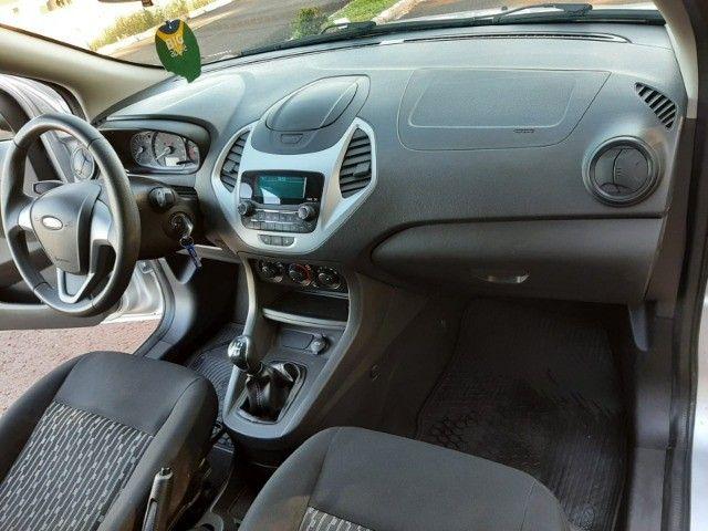 Ka SE 1.0 Hatch 2020 prata - Foto 15