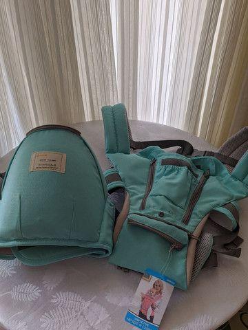 Bolsa canguru ergonômico Aiebao nunca usado - Foto 3